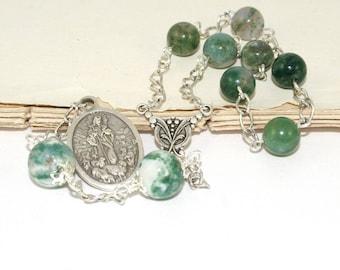 Anglican Pocket Rosary, Chaplet of the Good Shepherd Christian Prayer Beads