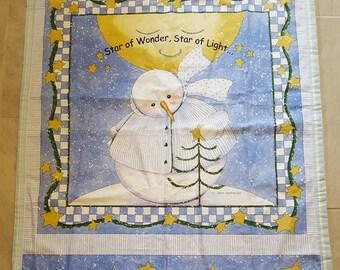 Snowman Blanket