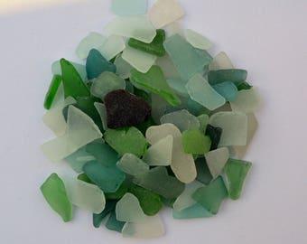 100 Sea Glass, Bulk Beach Glass, Beach Wedding Supplies, Mosaic Supply, Craft seaglass