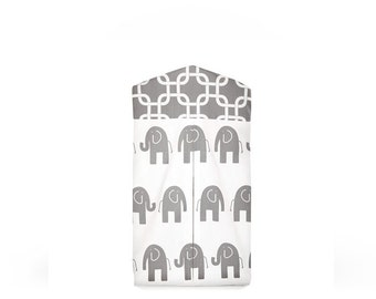 Elephants Collection Diaper Stacker