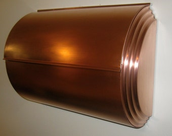 LARGE COPPER MAILBOX