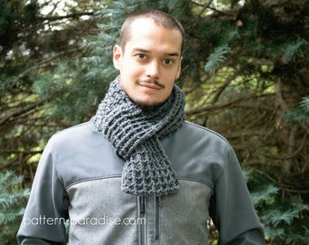 Crochet Pattern for Super Scarf Waffle Stitch Alpine PDF 16-256
