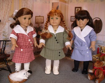 Doll Clothes Pattern, Sissy's Favorite, No 1019