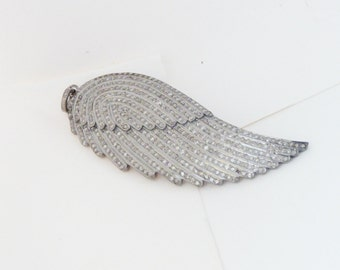 Pave Diamond Feather