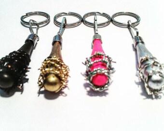 The Walking Dead / Negan / Lucille / Key Chain / Necklace / Key Ring / Lucille Bat / Negan Keyring / Lucille Key chain / Lucille key ring