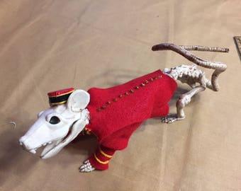 Skeleton Rat Bellhop Costume Pattern and Directions