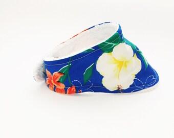 Hawaiian Bandana Bib, Drool Bib,  Baby Gift, Baby Girl Bib, Baby Boy Bib, Absorbent Bandana Bib, Adjustable Bib