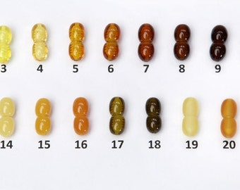10 pcs Jewelry plastic clasps SCREW option, choose the color