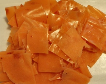 Strawberry Yogurt Leather / Taffy Bites - 2 oz. - GREAT for you AND your dog