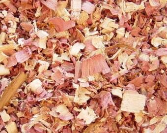 Cedar Wood Chips & Shavings - (3/4lbs)