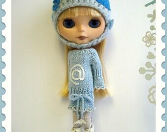 pdf pattern - Sweet Tweet sweater dress for Blythe