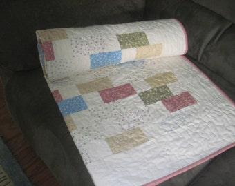Baby building blocks quilt