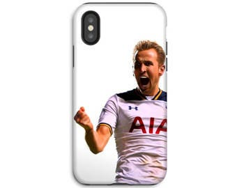 Harry Kane - Tottenham Hotspur - Phone Case - iPhone X Phone Case - iPhone 8 Case - iPhone Case - Samsung Galaxy - Galaxy S8 case