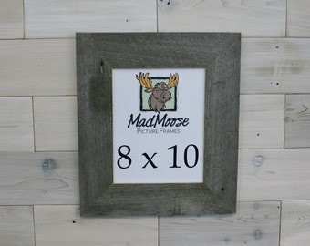 "8x10 BarnWood [Thin x 3""] Picture Frame"