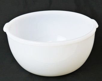 Sunbeam Mixer Large Milk Glass Mixing Bowl For Mixmaster GlasBake