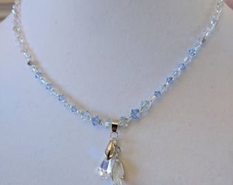 Swarovski Crystal Set (Necklace and Earrings)