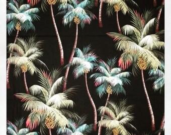 FREE SHIPPING AUSTRALIA - Fabric One metre of Punalu'u 100% Tropical Fabric