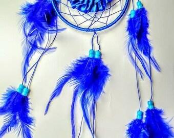 Small Dreamcatcher Blue color for car.