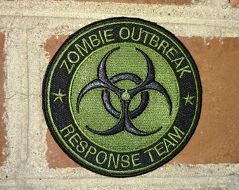 Zombie Outbreak Response Team -  Badge Morale/Tactical Patch
