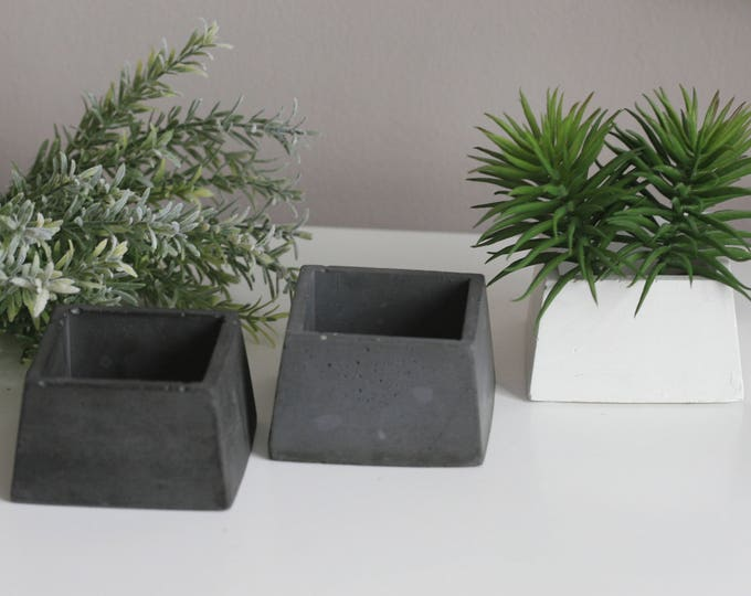 Concrete Holder | Decorative | Rustic | Urban | Industrial
