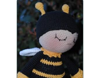 Amigurumi pattern - crochet amigurumi - toy pattern - Amigurumi animal -  bee pattern - crochet animal pattern - Pdf download -