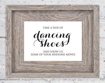 Printable Wedding Signs | Custom Assorted 4x6 Signs | Digital Download | Flip flops, Guestbook, Hashtag, Koozies, Photobooth Wedding Signage