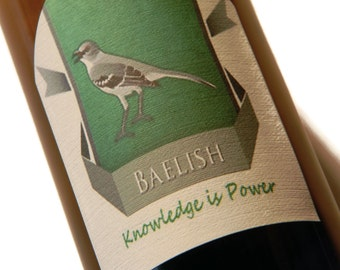 Baelish Beer Labels, Game of Thrones, Stocking Stuffer (Sheet of 9 labels)