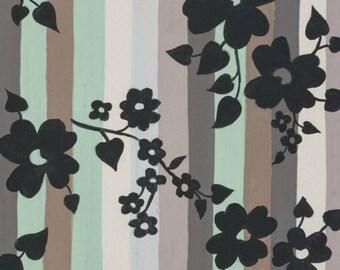 Alexander Henry - The Ghastlies Collection - A Ghastlie Stripe in Gray / Sage