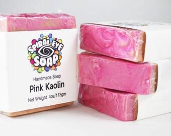 Pink Kaolin Clay - Handmade Soap