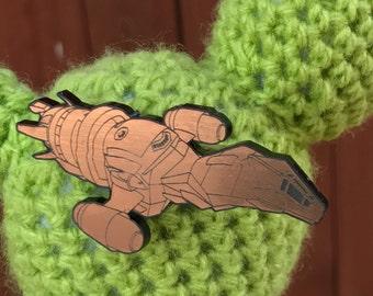 Firefly inspired serentiy brooch