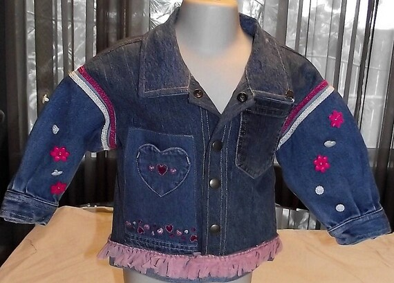 Refurbished Girls Denim Jacket, Size 24mo