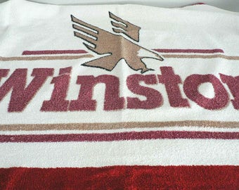 Winston Cigarettes Terry Beach Towel