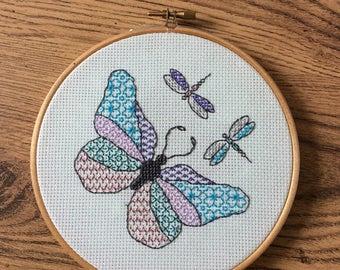 Blackwork Butterfly