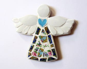 Small floral mosaic Angel