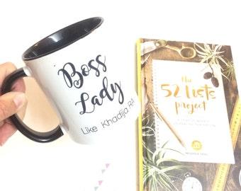 Boss Lady Mug. Bad Ass Gift Idea