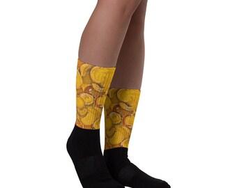 Golden Bubbleishious Socks