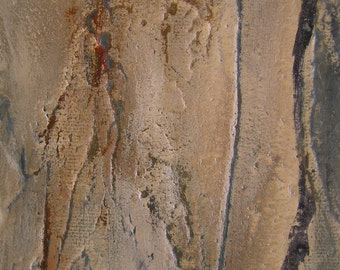 Australian Gum Tree original painting, tree bark artwork, Australian fine art, wall decorating for rustic homes