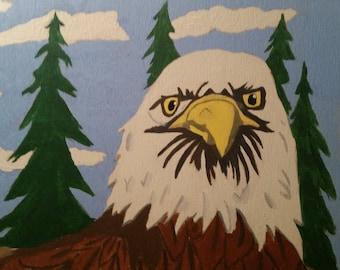 Bald Eagle Box