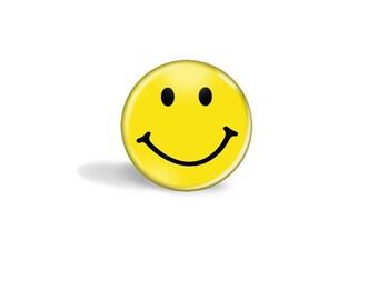 Happy Face Magnet - Smiley Face Magnet - Happy Face Magnets - Smiley Face Magnets - Yellow Happy Face Magnet - Yellow Happy Face - Magnets