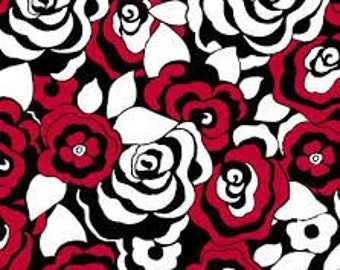 Dotsy Red Flower 8027 for Blank Quilting