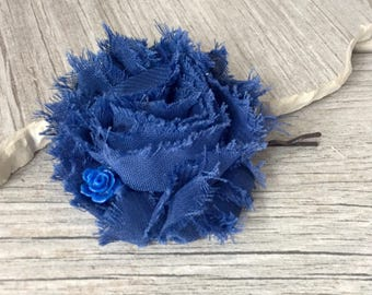Navy blue Flower Hair Accessories, navy Hair Pins,Set of 4, Resin Rose Hair Pins, Rose Hair Accessories, updo hair pins, gift for her