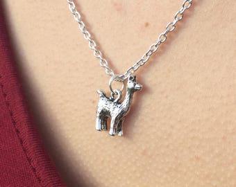 Llama Necklace, Llama Lover, Llama Gift, Llama Jewellery, Gift for Her, Gift for Him, Drama Llama, Alpaca Necklace, Animal Necklace