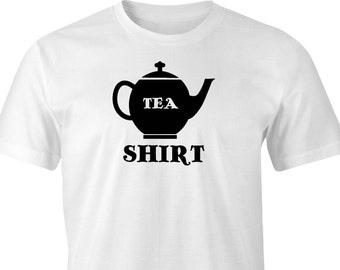 Teapot print T-shirt, Tea Drinkers T-Shirt, Teapot Print, Tea Pot T-Shirt, Tea Party T-Shirt, Pot of Tea Print, Tea Party Print, Tea Pot.