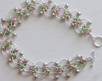 Beaded Chainmaille Twist