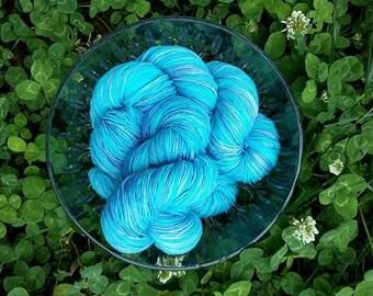 Superwash Merino Blend Sock Yarn - Seaglass