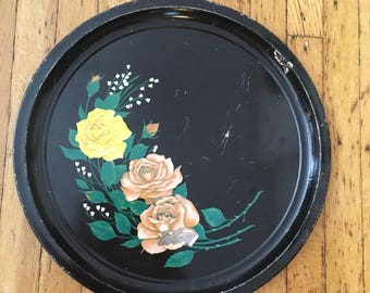 Rose and Snowdrop Tray