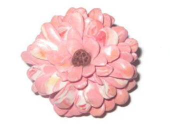 Handcrafted Flower Brooch