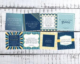ESV Scripture Cards for Encouragement Truth Squares
