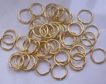 1000 rings 4x0.7 mm - gold metal