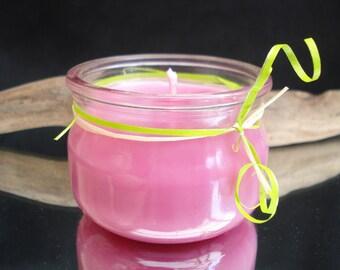 Pink Perfume jar candle